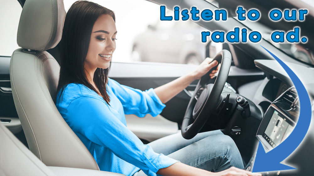 Listen to our radio ad.